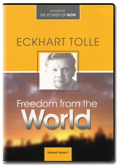 Freedom from the world - eckhart tolle - 5 dvder fra N/A fra bog & mystik