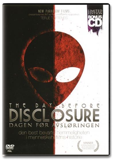Dagen før afsløringen - the day before disclosure fra N/A på bog & mystik