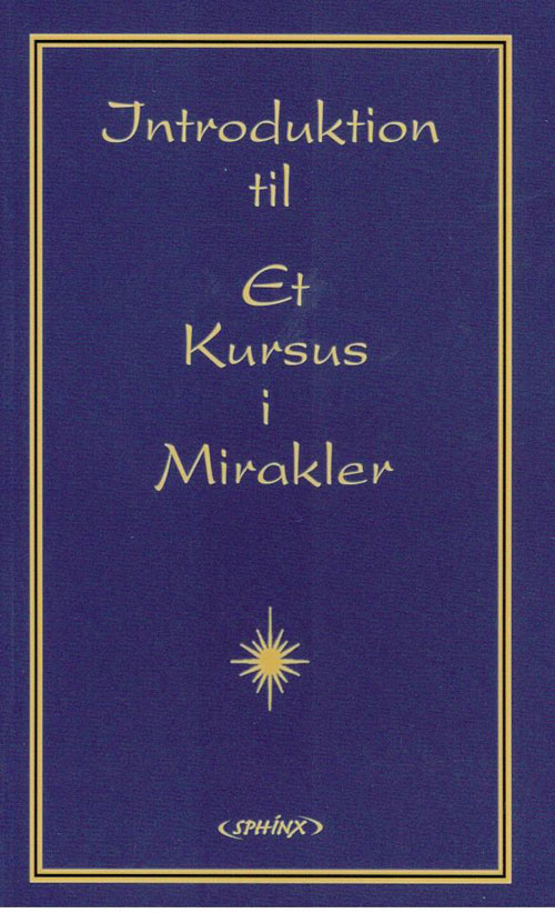 Image of   Introduktion til Et Kursus i Mirakler