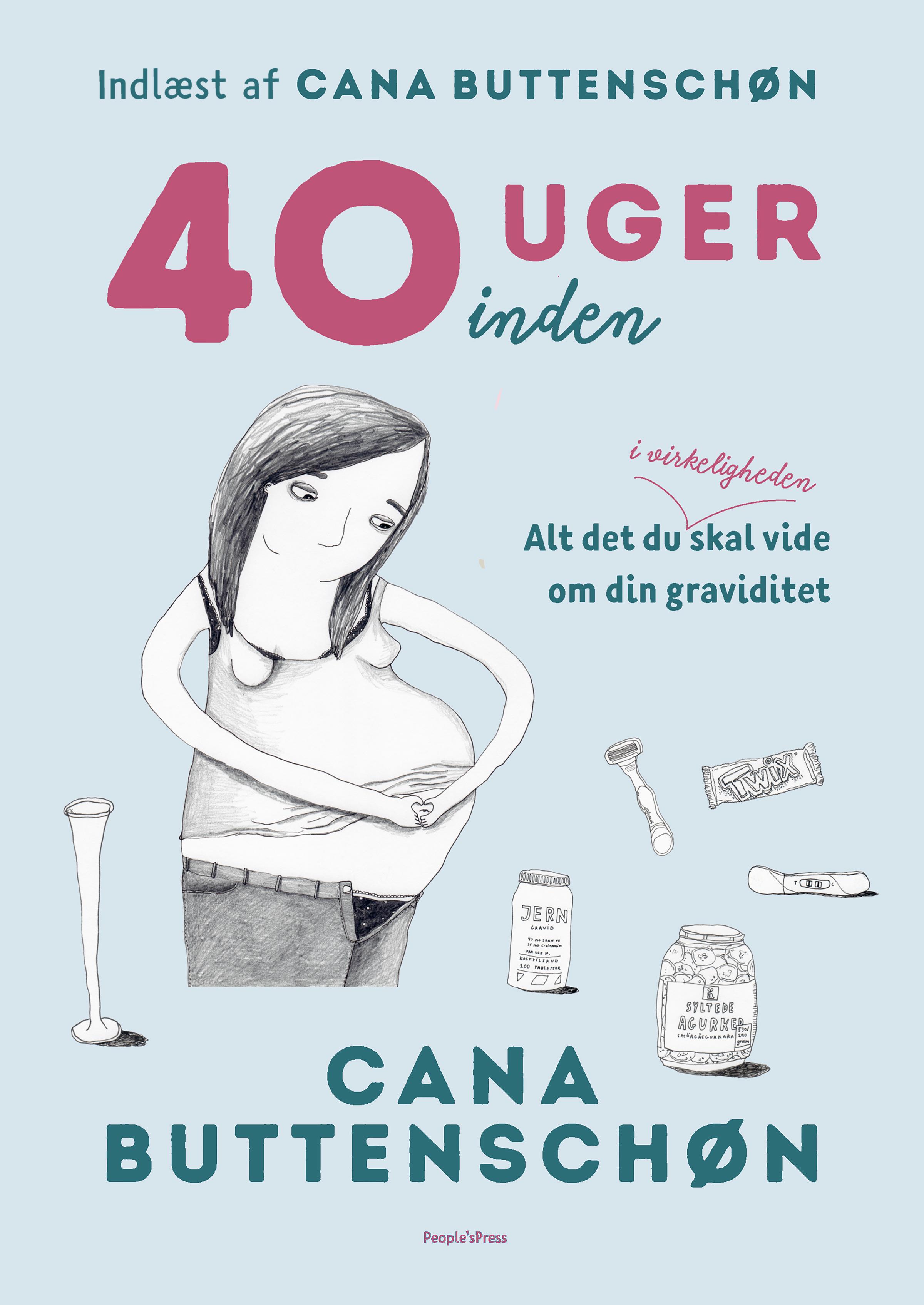 Image of   40 uger inden - E-lydbog