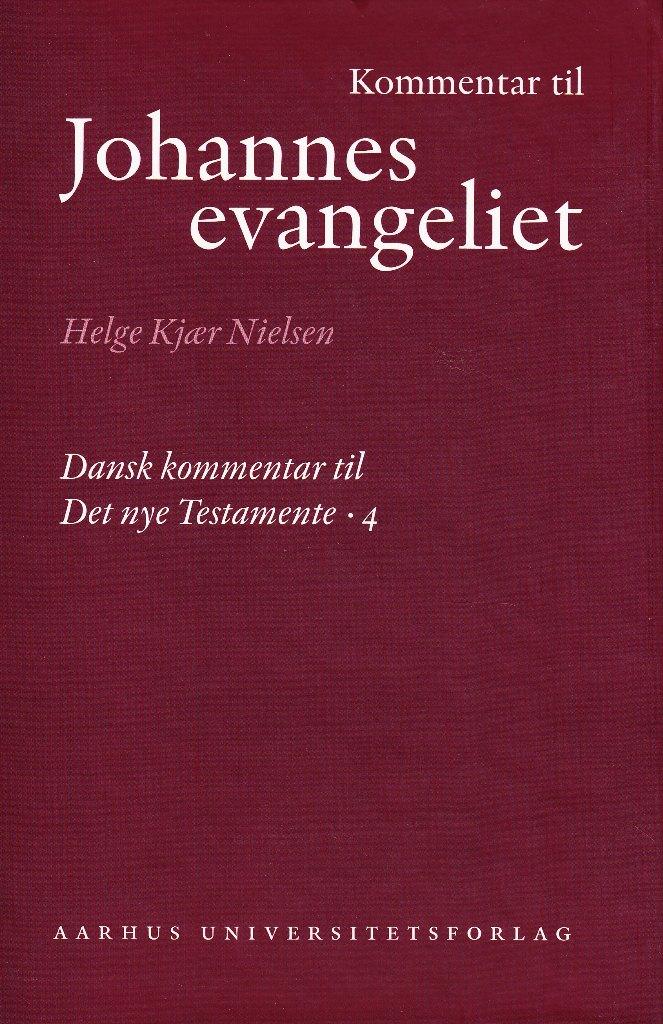 Image of   Kommentar til Johannes Evangeliet - E-bog