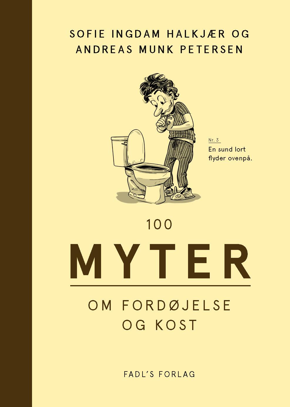 Image of   100 myter om fordøjelse og kost - E-lydbog