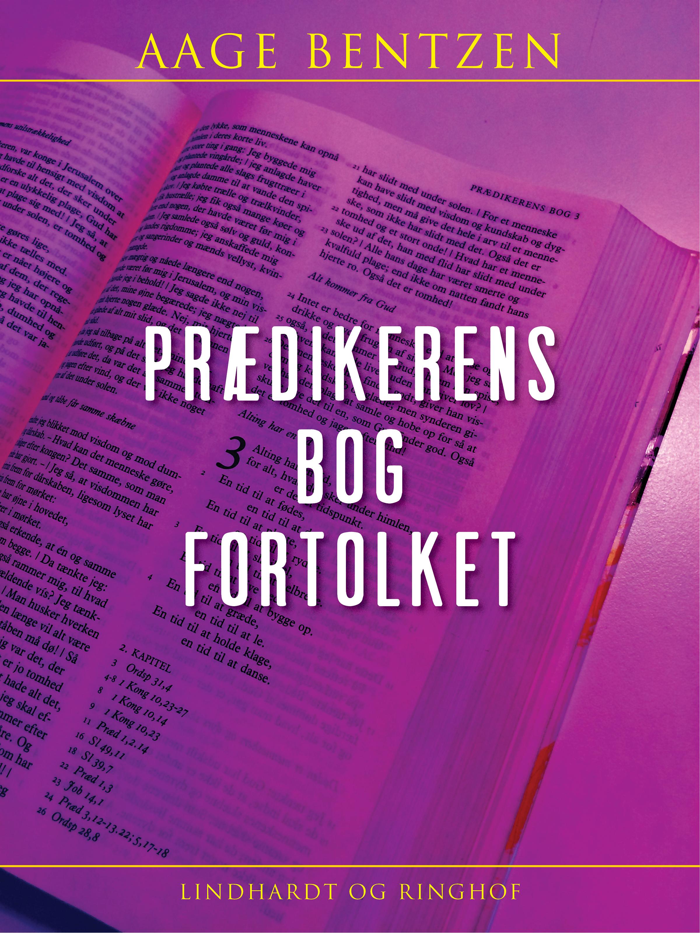 N/A – Prædikerens bog fortolket - e-bog på bog & mystik