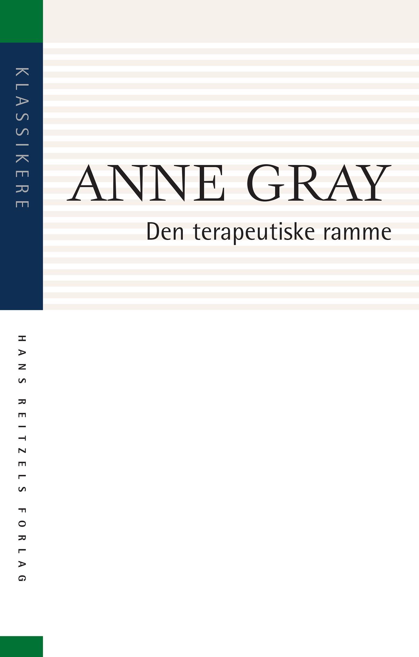 Billede af Den terapeutiske ramme - E-bog