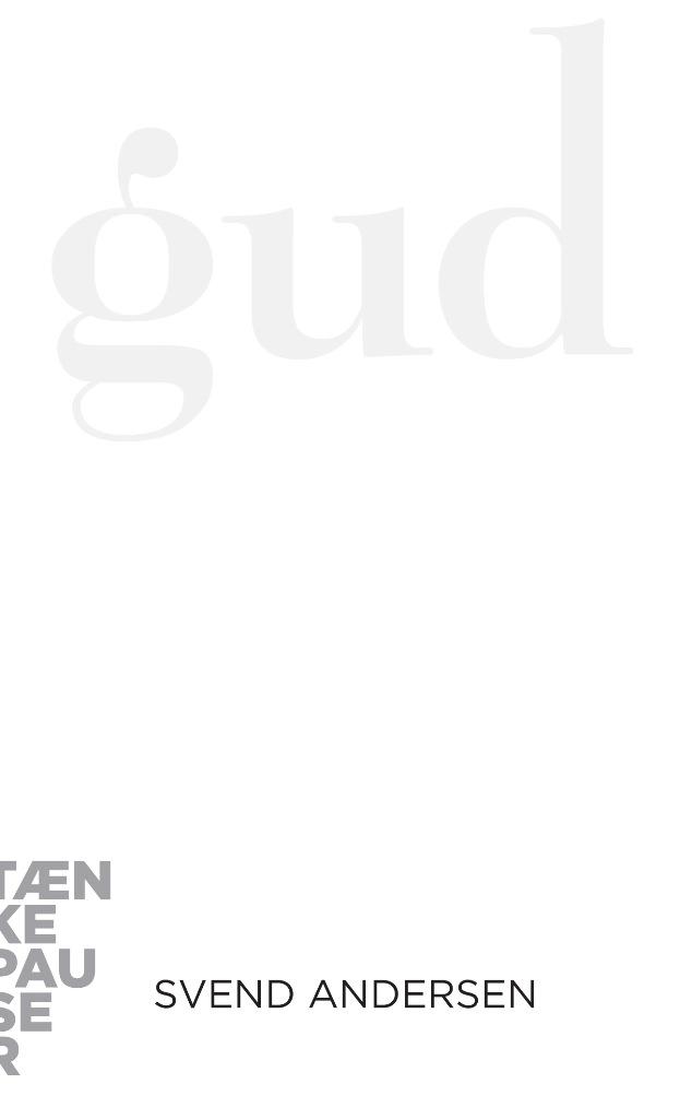 Image of   Gud - E-lydbog