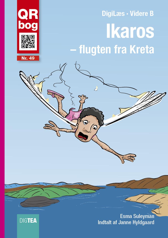 Ikaros - flugten fra kreta - læs med lyd - e-bog fra N/A på bog & mystik