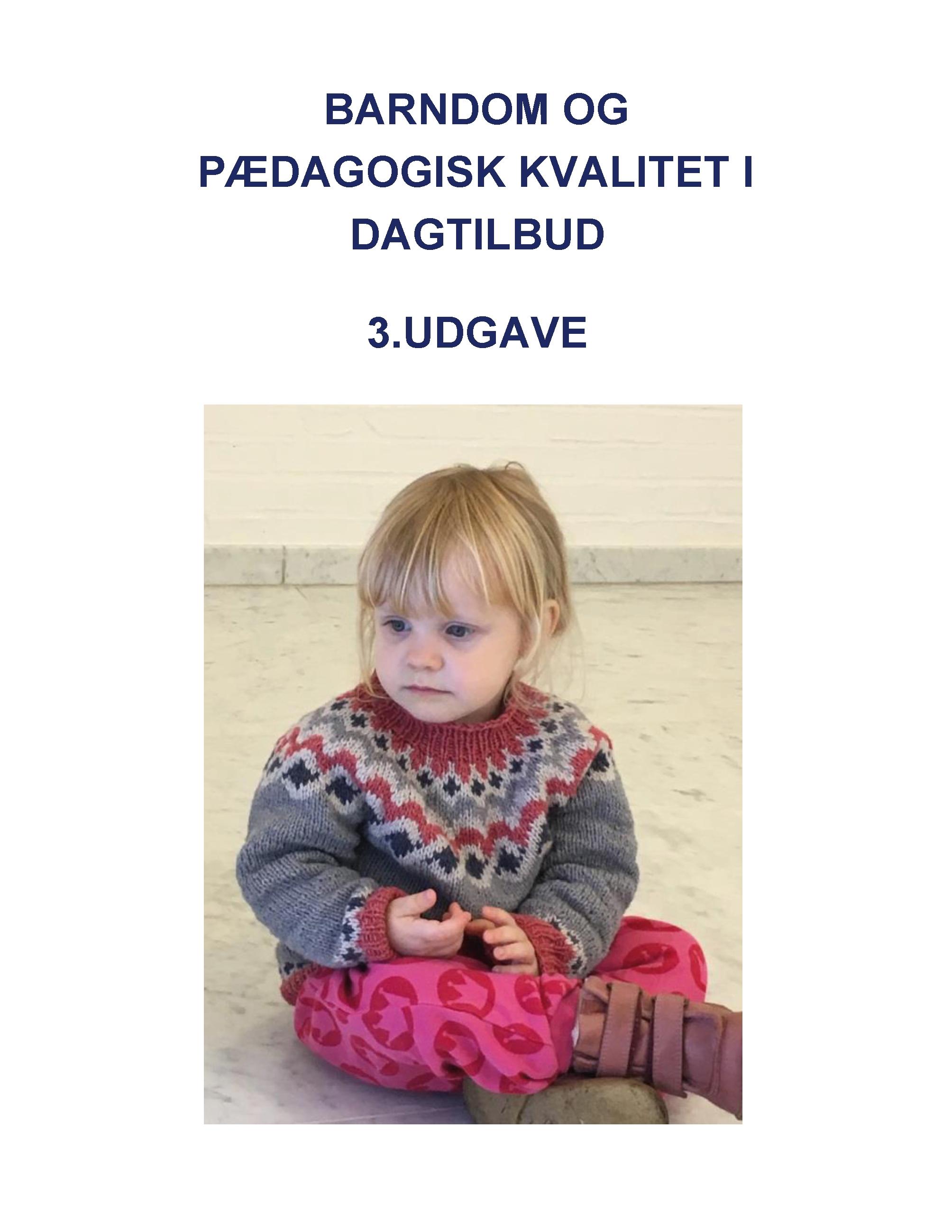 Image of   Barndom og pædagogisk kvalitet i dagtilbud - E-bog