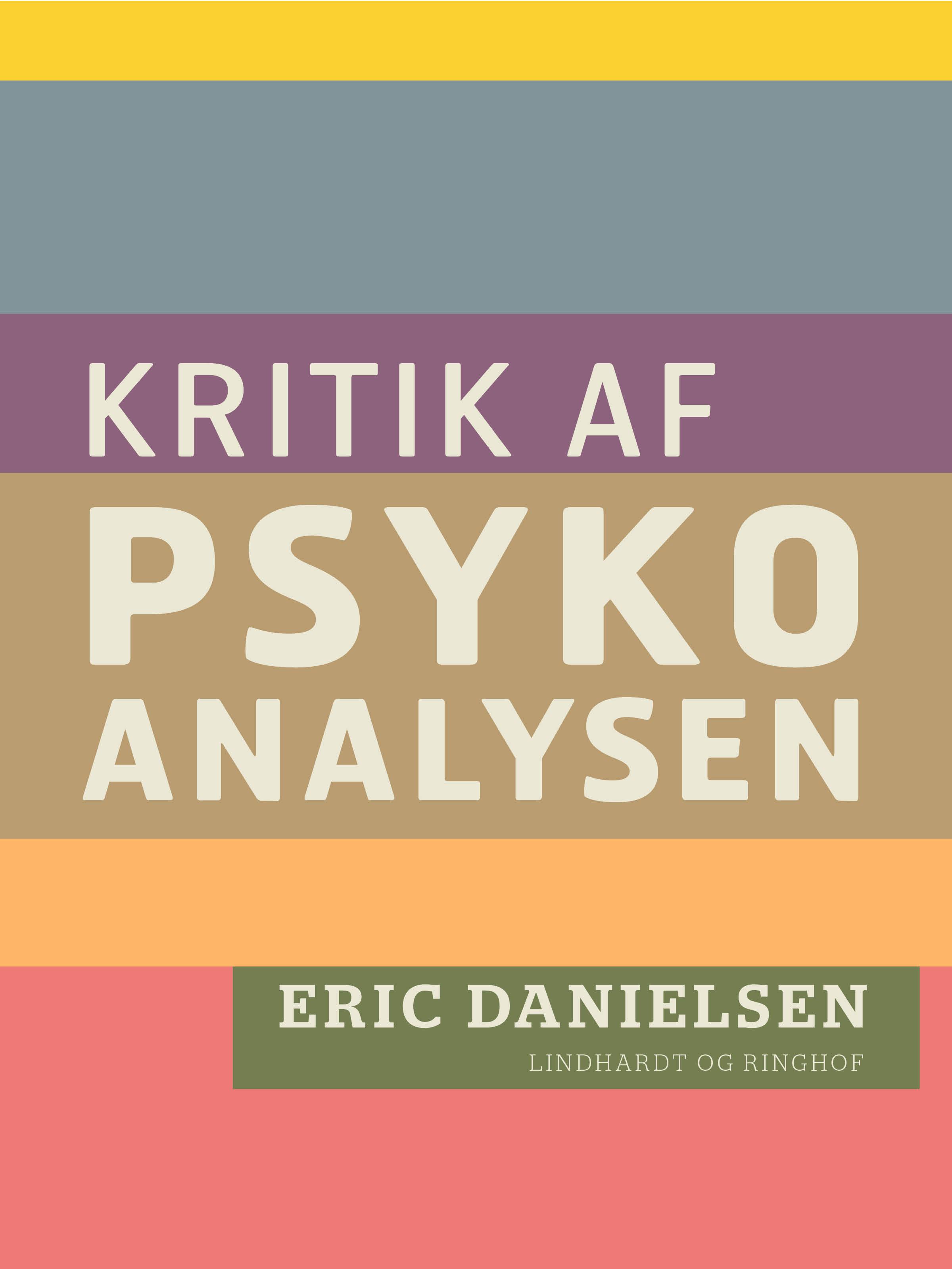 Kritik af psykoanalysen - E-bog