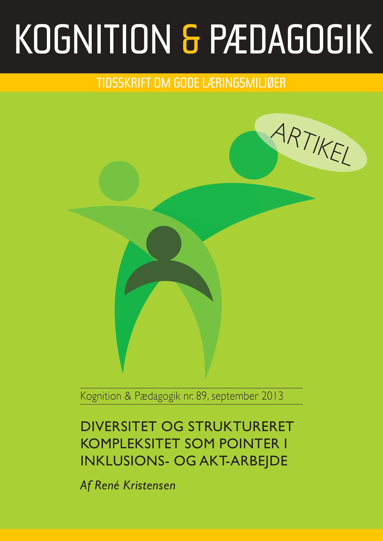 Diversitet og struktureret kompleksitet som pointer i inklusions - og AKT-arbejde - E-bog