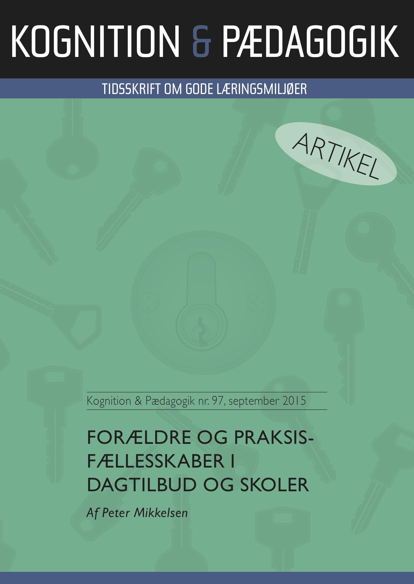 N/A Forældre og praksisfællesskaber i dagtilbud og skoler - e-bog fra bog & mystik