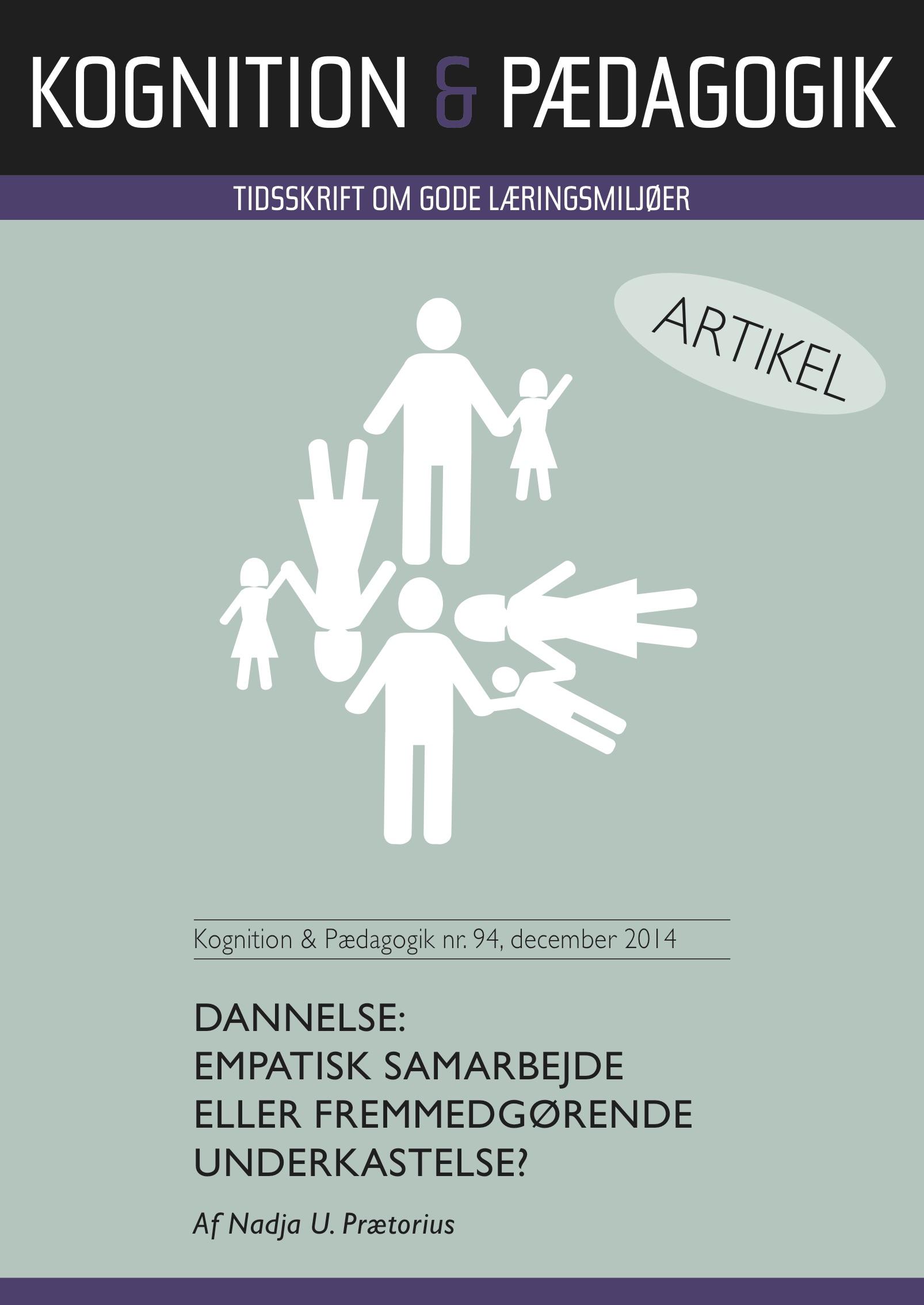 N/A Dannelse: empatisk samarbejde eller fremmedgørende underkastelse? - e-bog fra bog & mystik