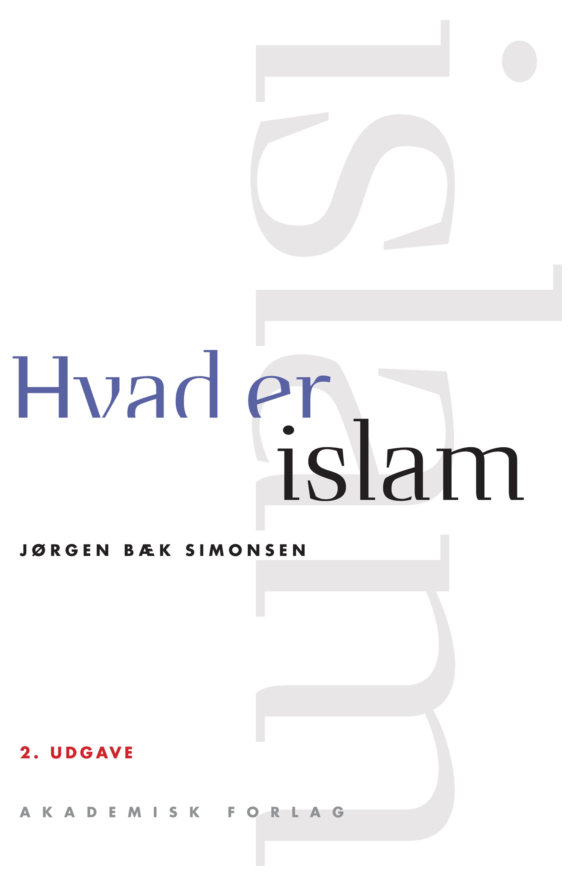 Image of   Hvad er islam - E-bog