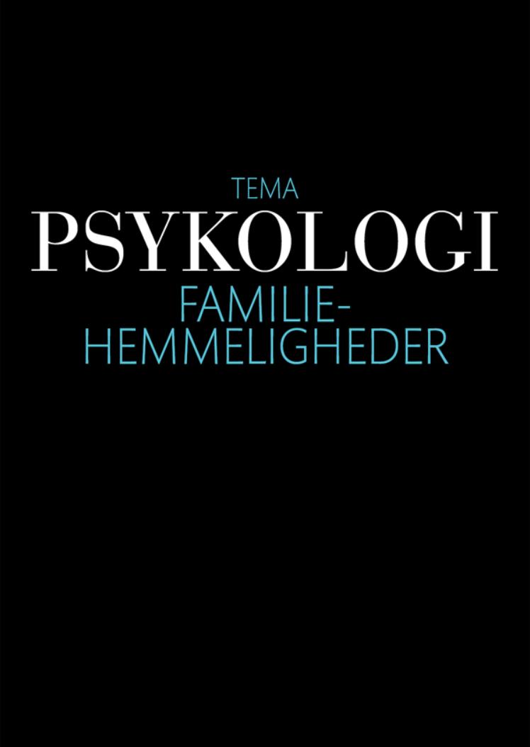 N/A – Psykologi: familiehemmeligheder - e-bog på bog & mystik