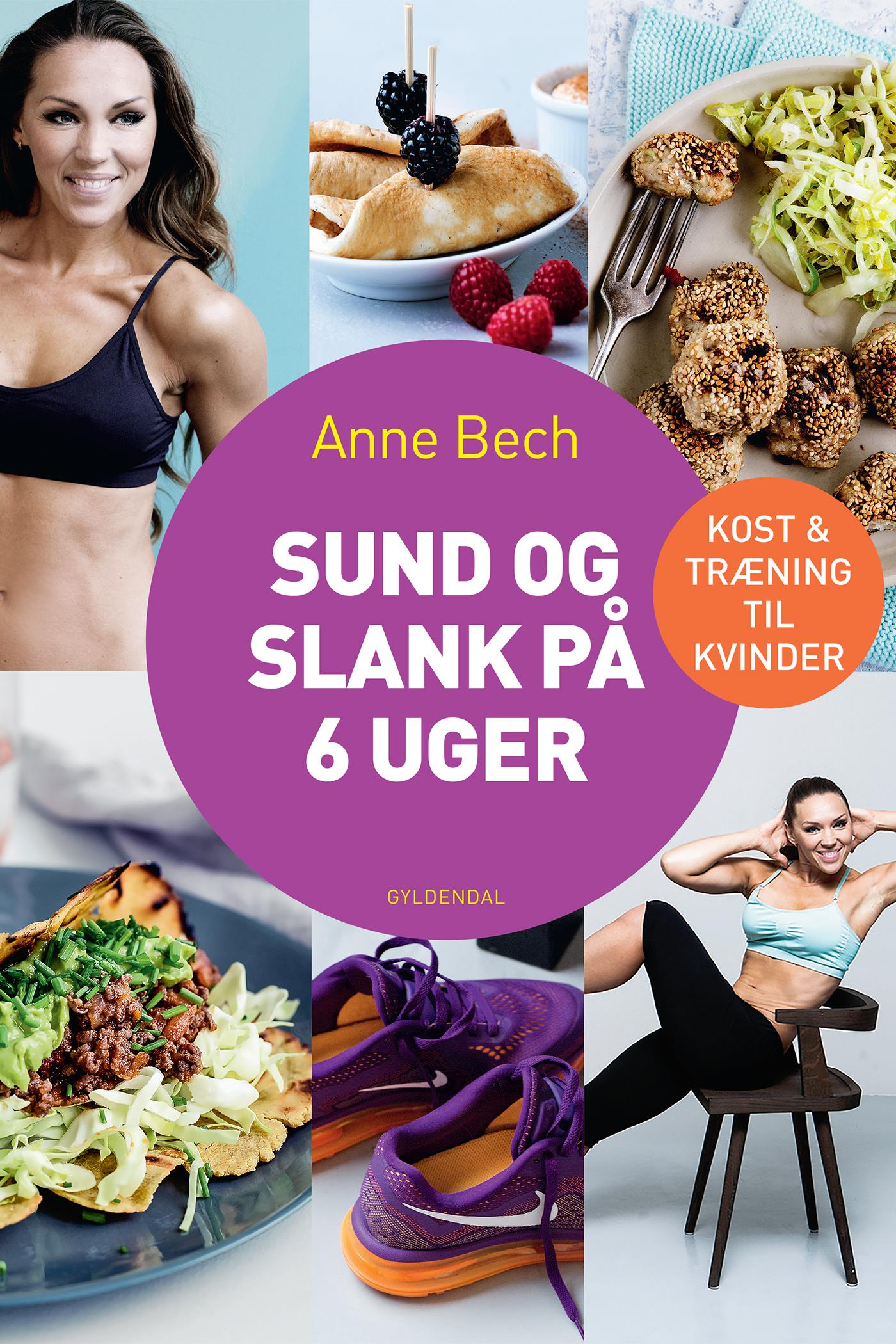 Sund og slank på 6 uger - e-bog fra N/A fra bog & mystik