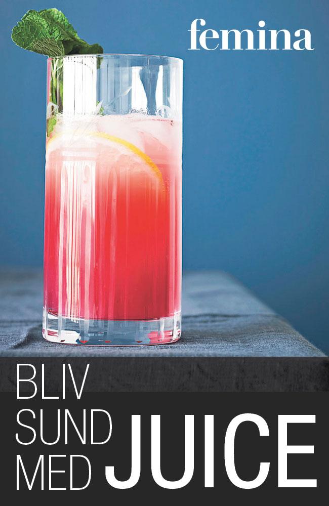 Bliv sund med juice - e-bog fra N/A fra bog & mystik