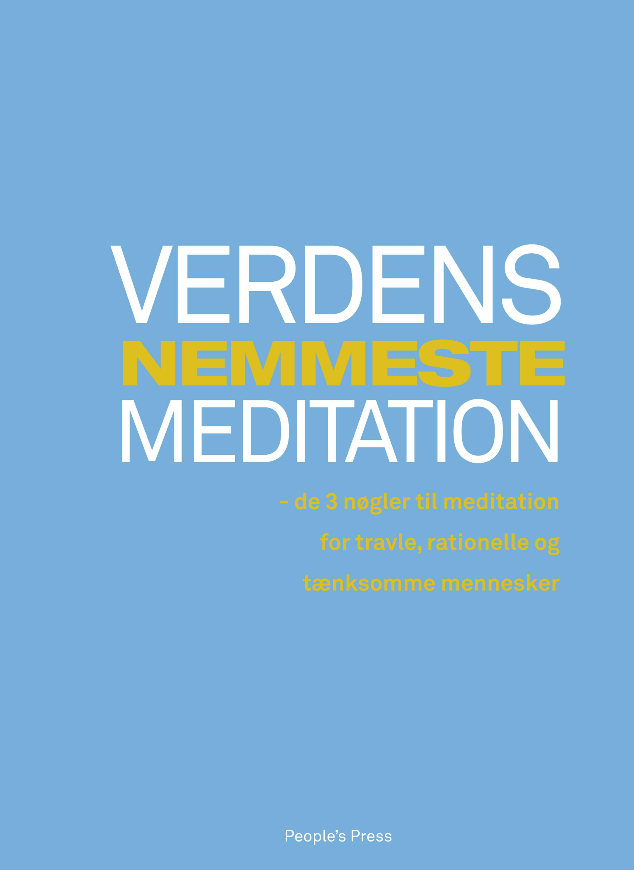 N/A Verdens nemmeste meditation - e-bog fra bog & mystik