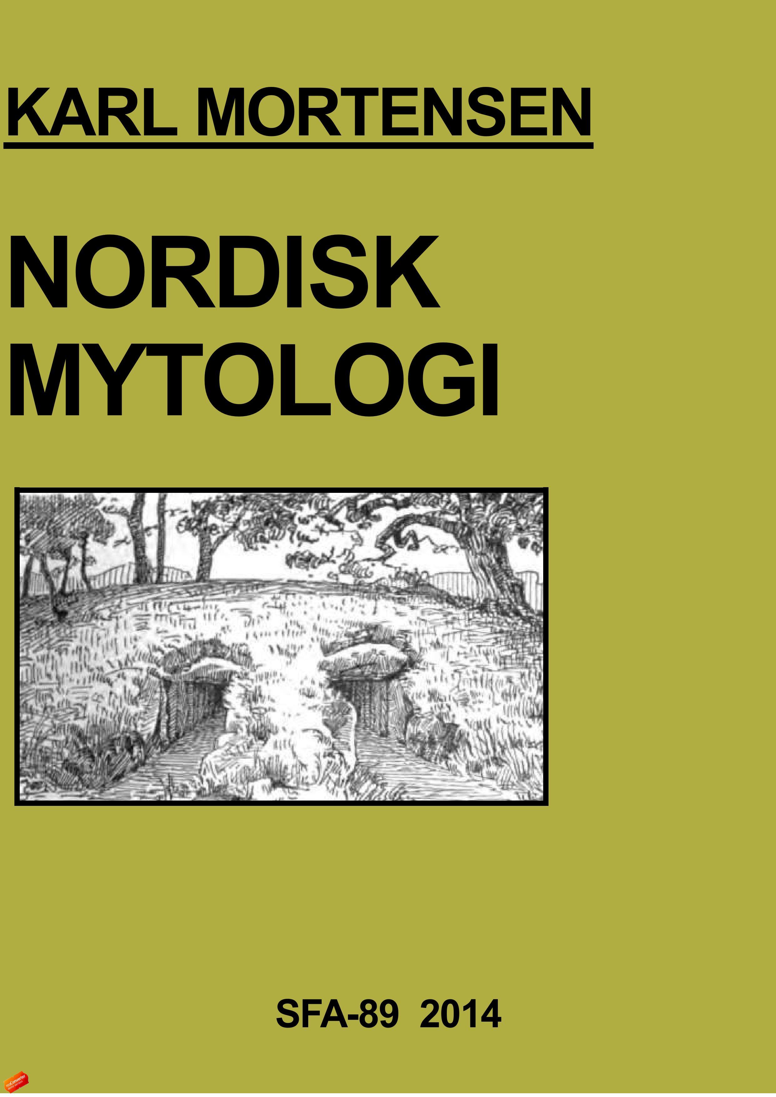 Billede af Nordisk Mytologi - E-bog