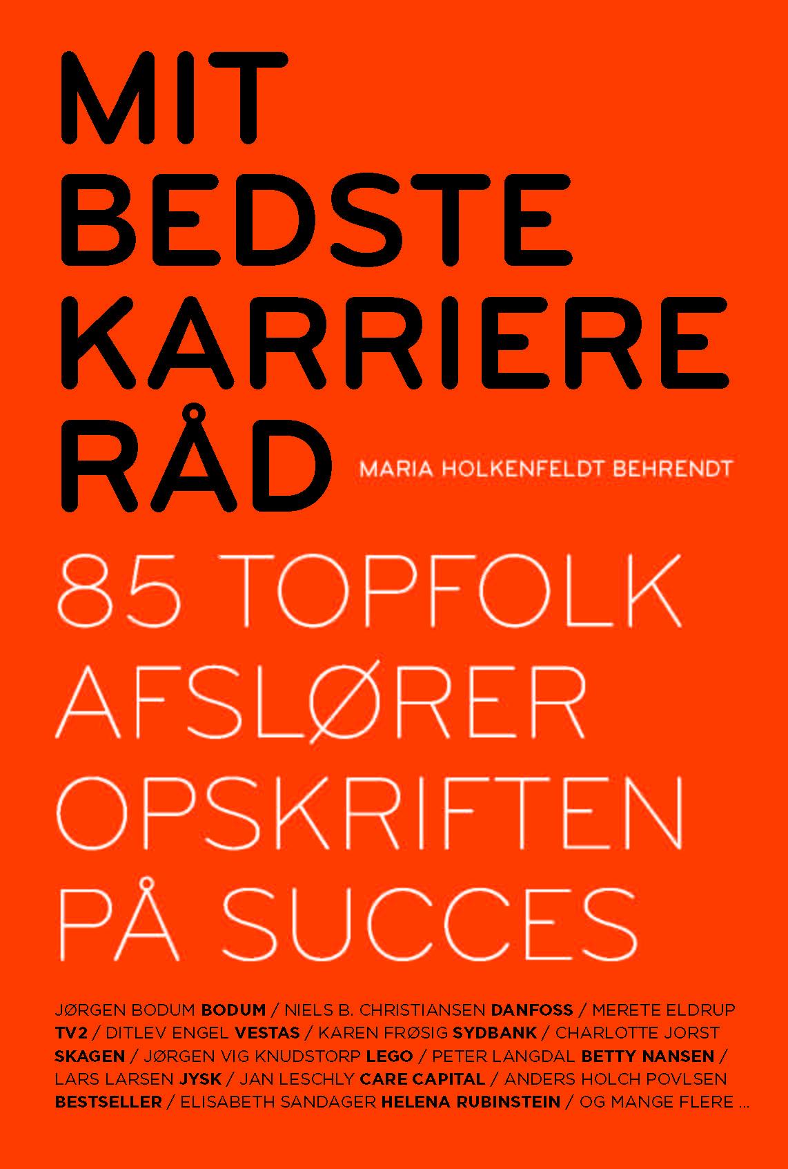 Mit bedste karriereråd - e-bog fra N/A på bog & mystik