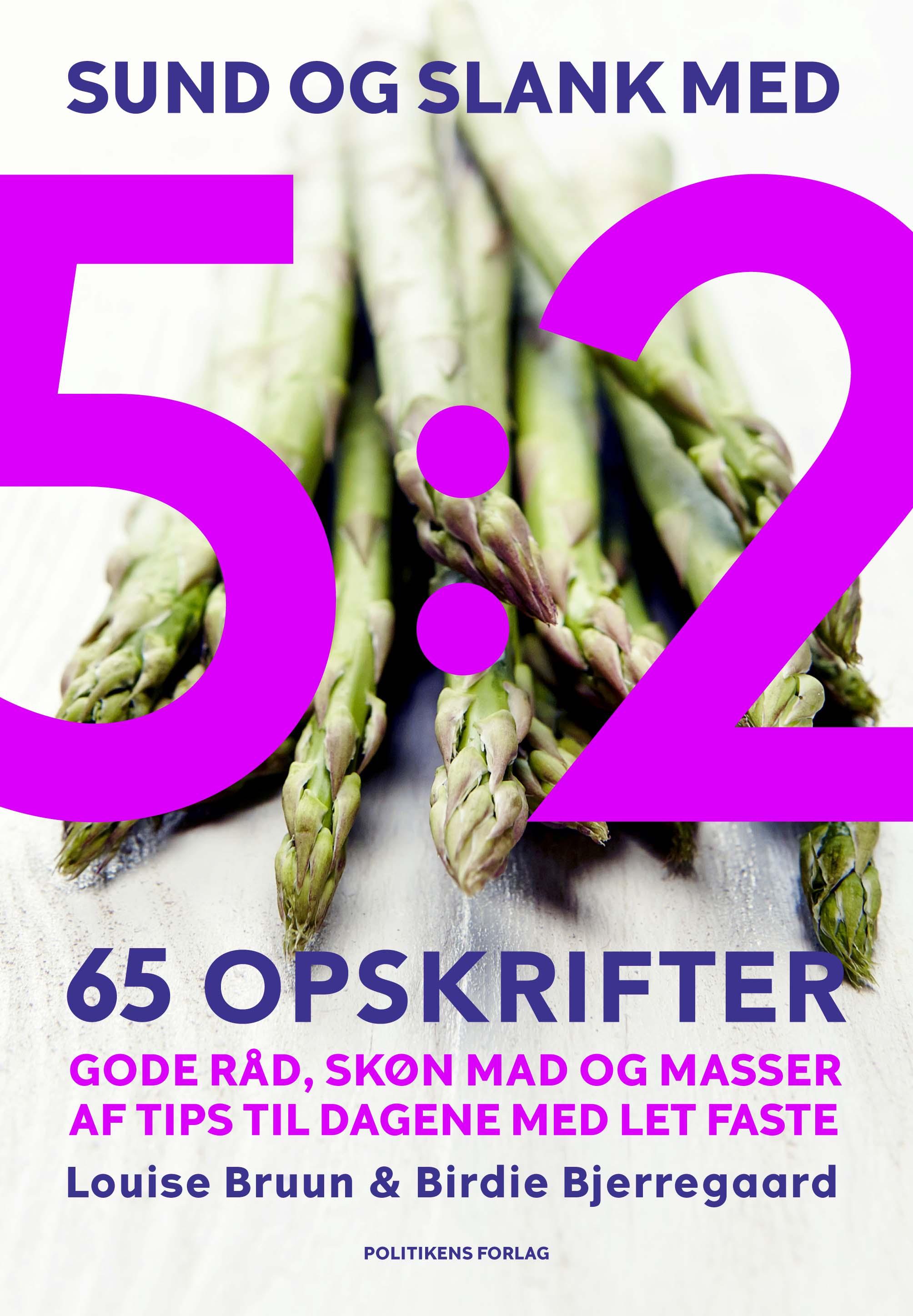 Image of   Sund og slank med 5:2 - E-bog