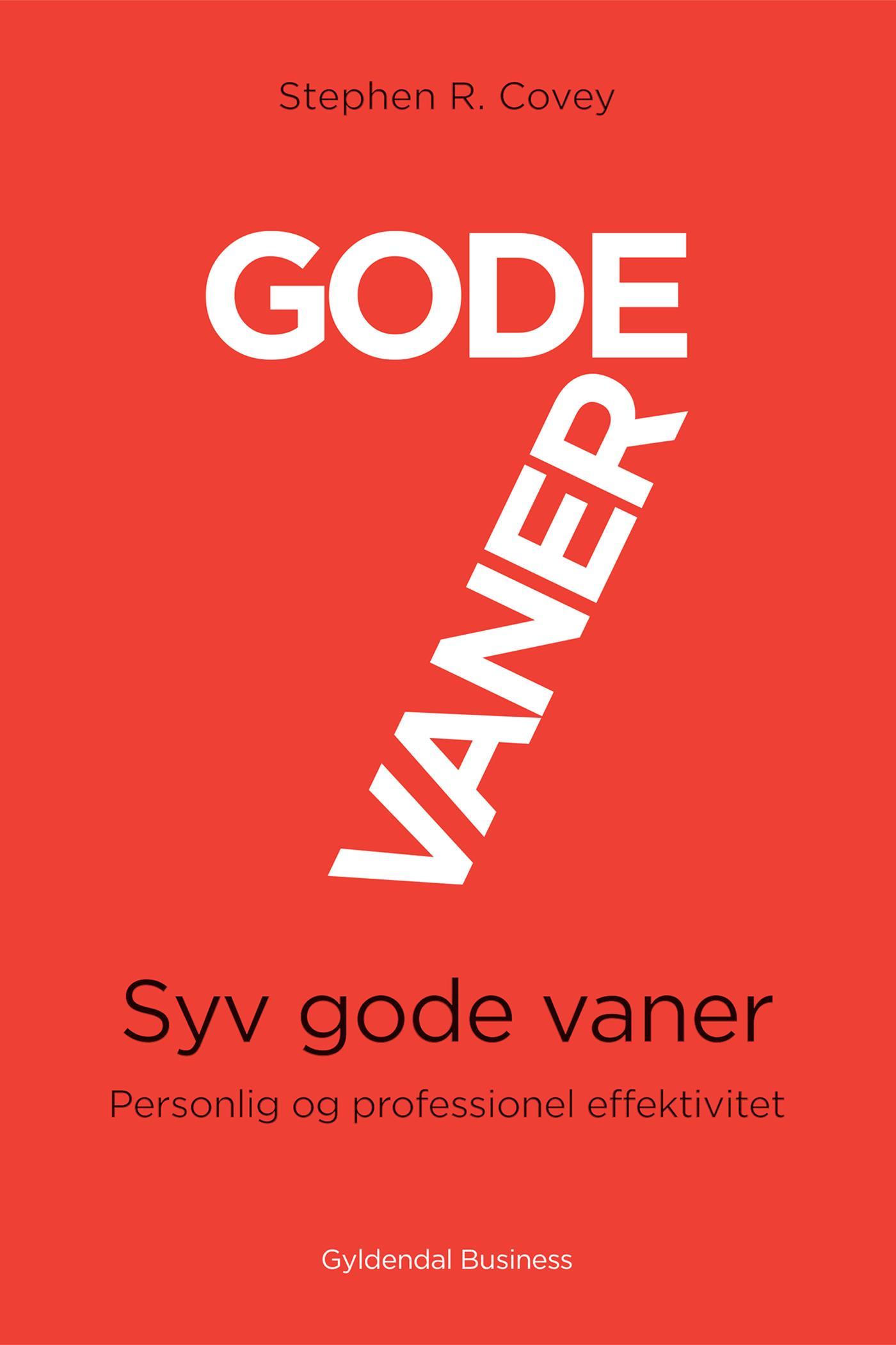 Image of   7 gode vaner (grundbog) - E-bog