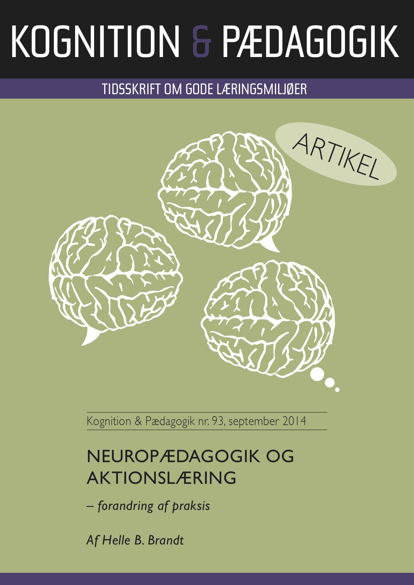 N/A Neuropædagogik og aktionslæring - e-bog på bog & mystik