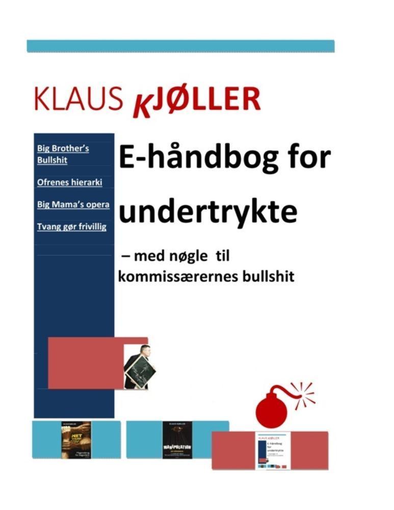 E-håndbog for undertrykte - med nøgle til kommissærernes bullshit - e-bog fra N/A fra bog & mystik