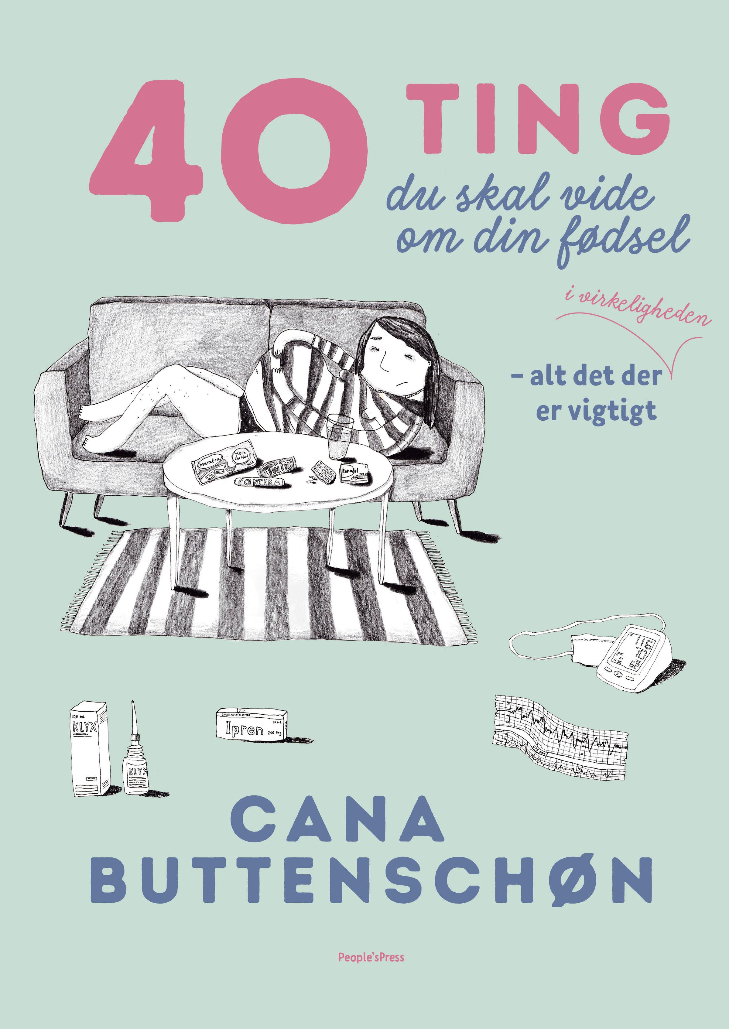 Image of   40 ting du skal vide om din fødsel - E-bog