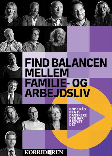 Find balancen mellem familie- og arbejdsliv - e-lydbog fra N/A fra bog & mystik