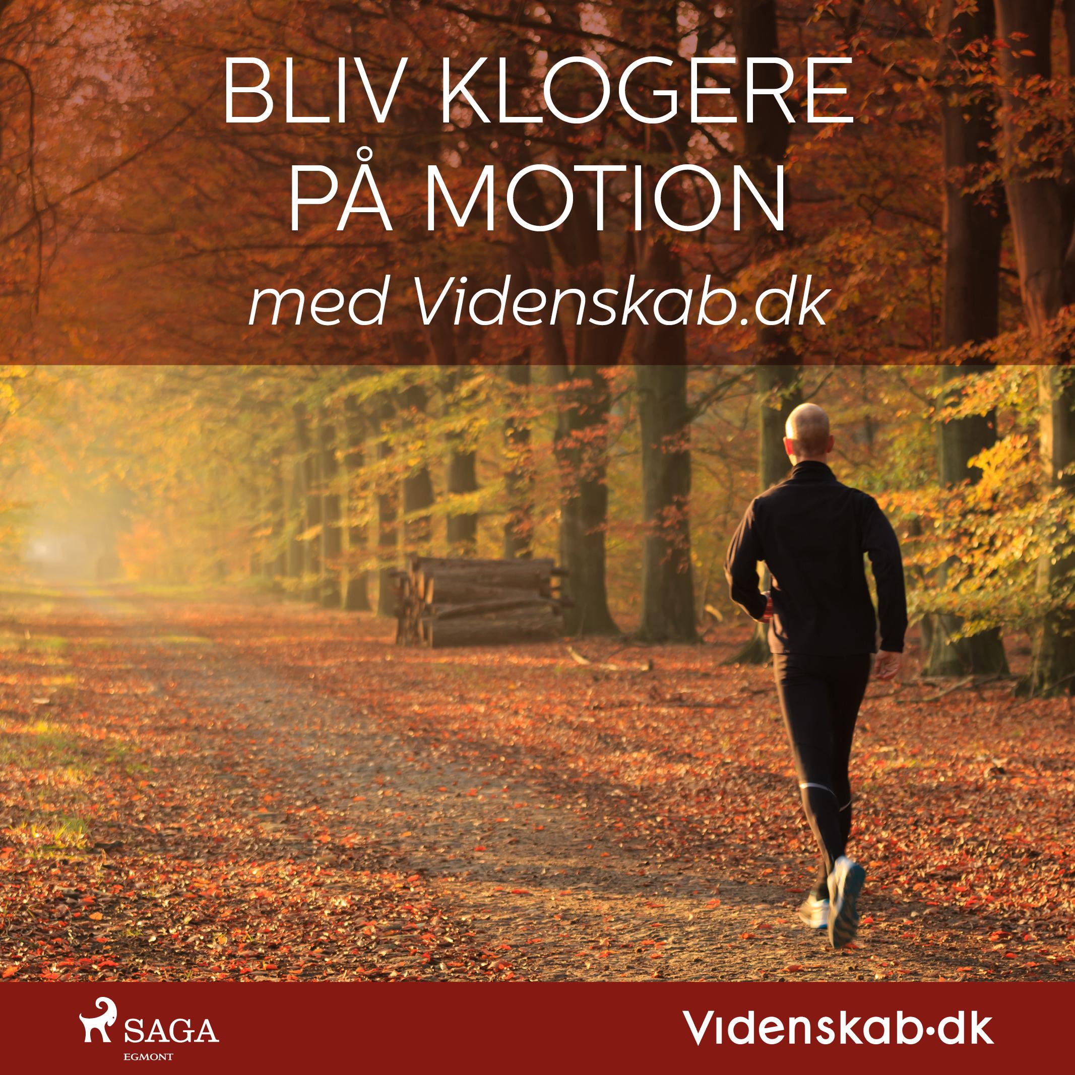 Image of   Bliv klogere på motion med Videnskab.dk - E-lydbog
