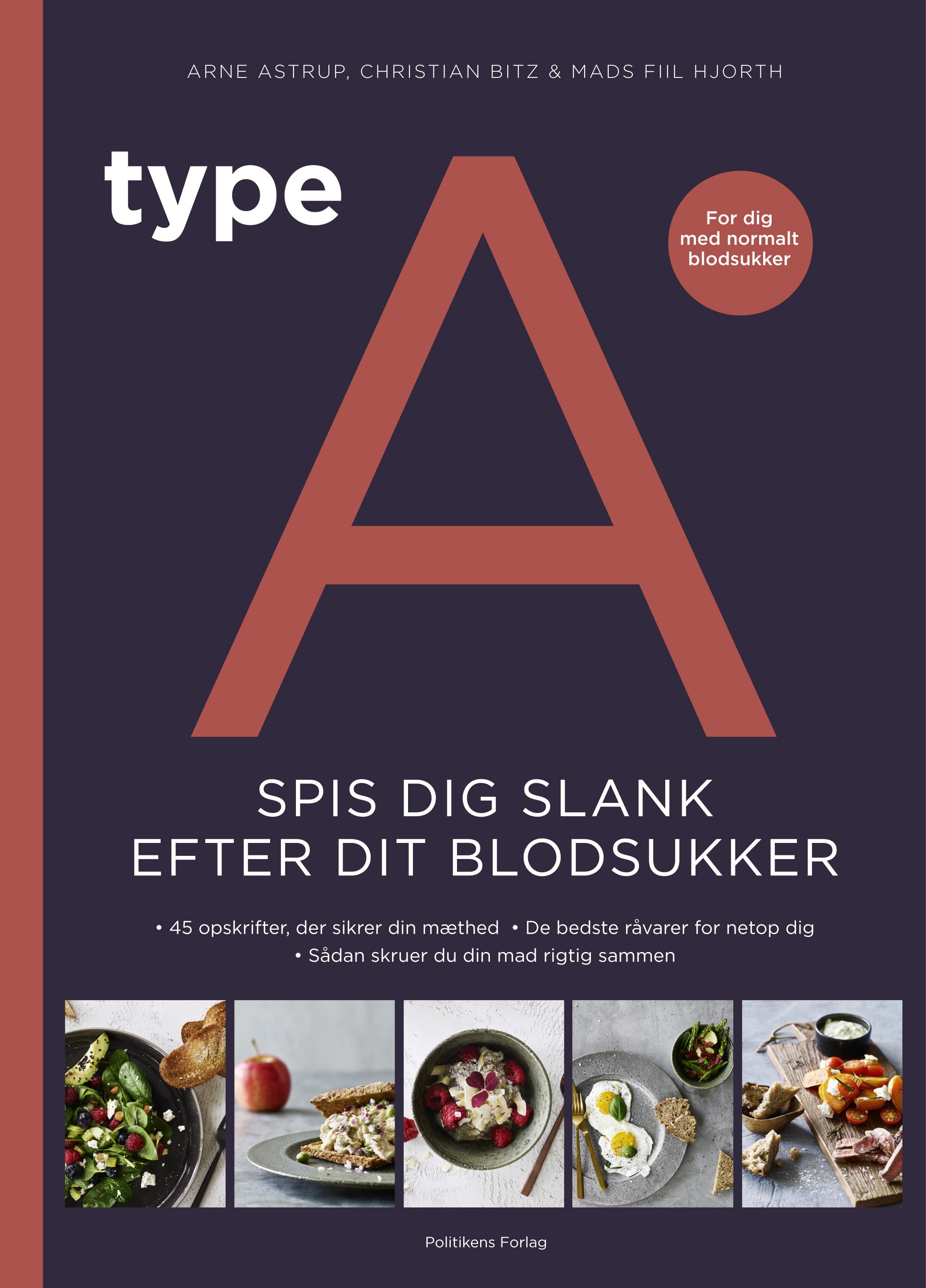Image of   Type A - Spis dig slank efter dit blodsukker - E-bog