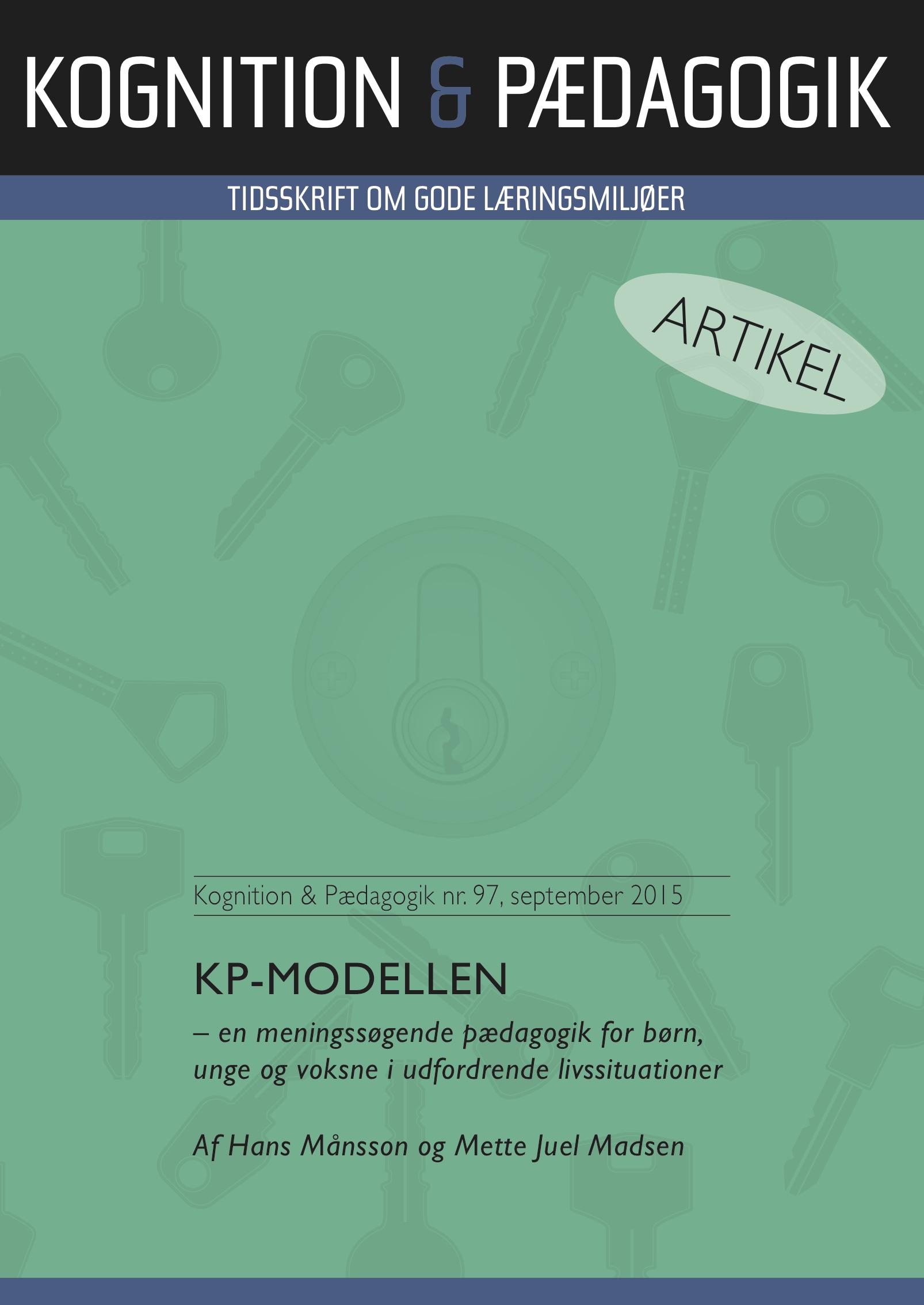 N/A Kp-modellen - e-bog på bog & mystik