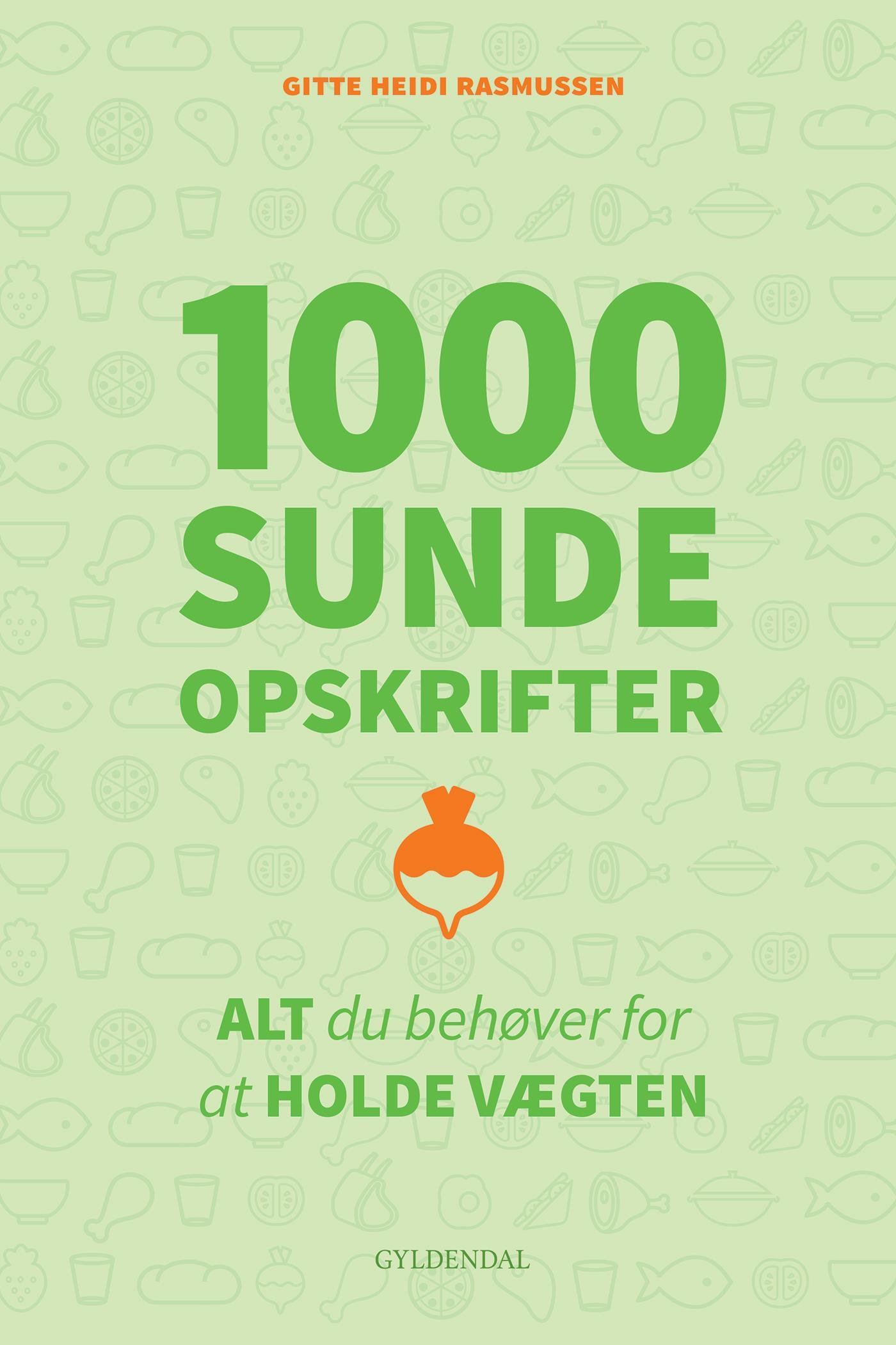 N/A 1000 sunde opskrifter - e-bog på bog & mystik