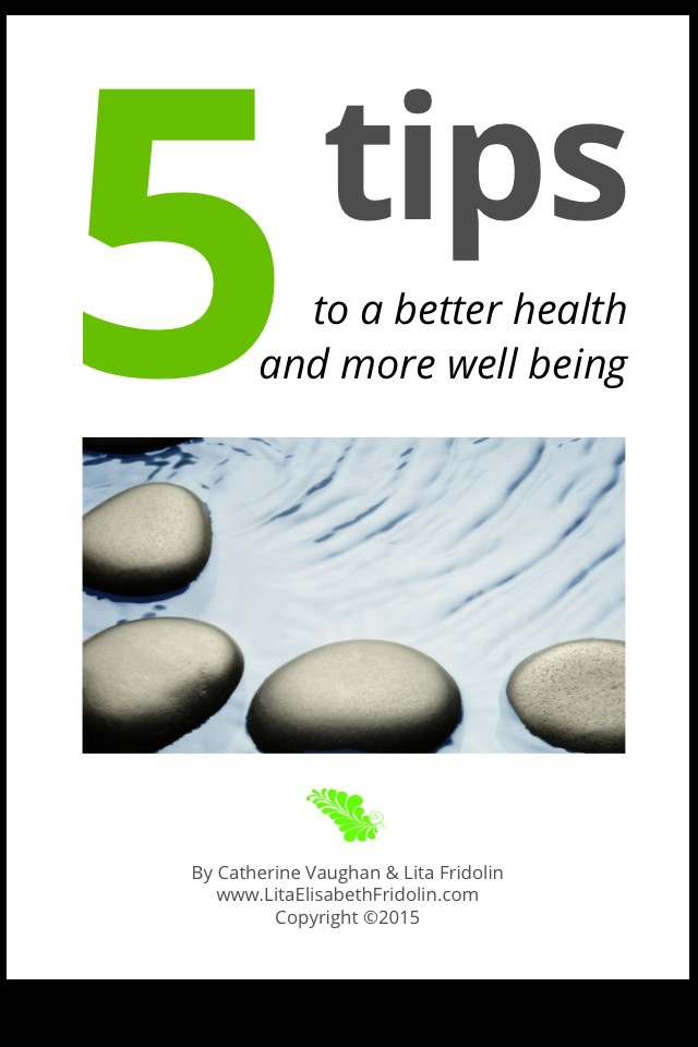 Image of   5 tips to a better health and more well being - E-bog