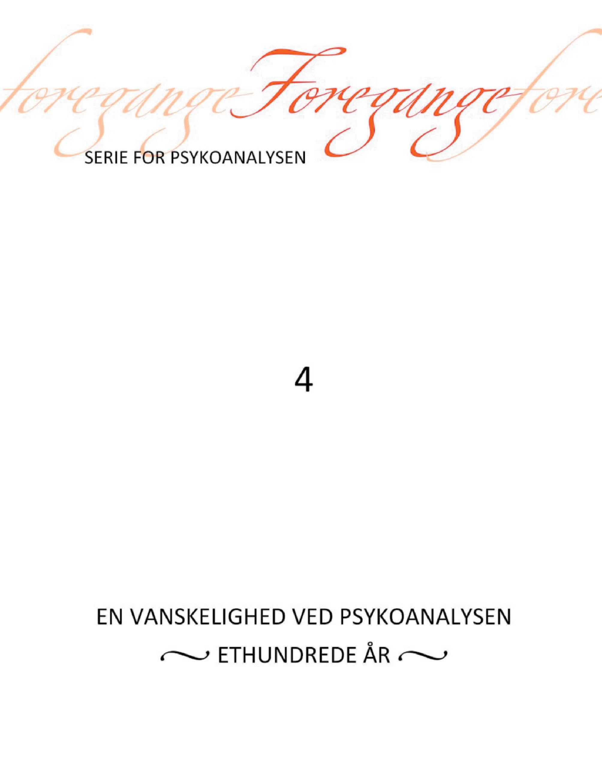 Foregange nr. 4 - e-bog fra N/A på bog & mystik