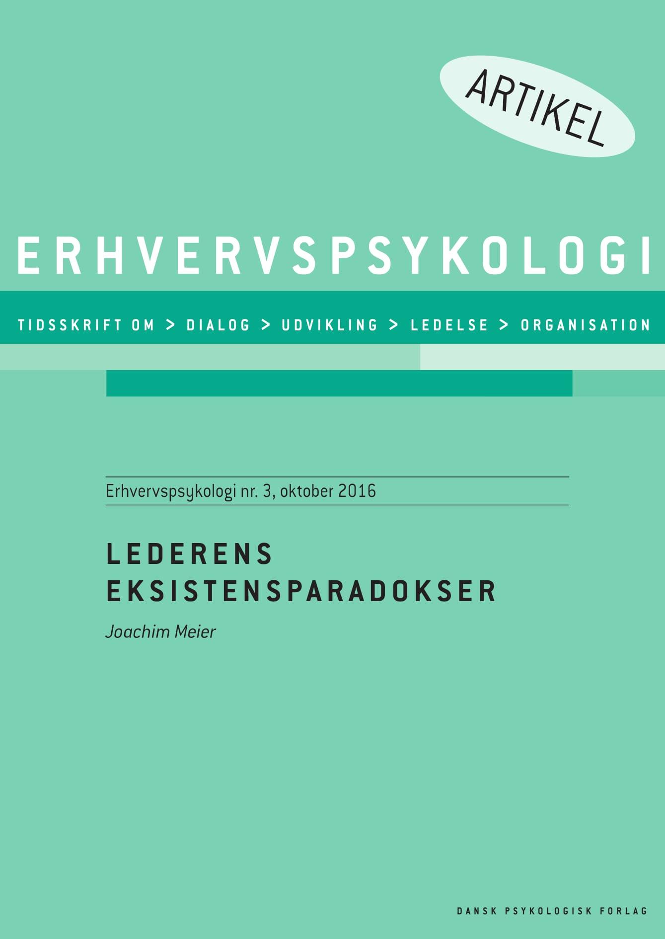 N/A Lederens eksistensparadokser - e-bog på bog & mystik