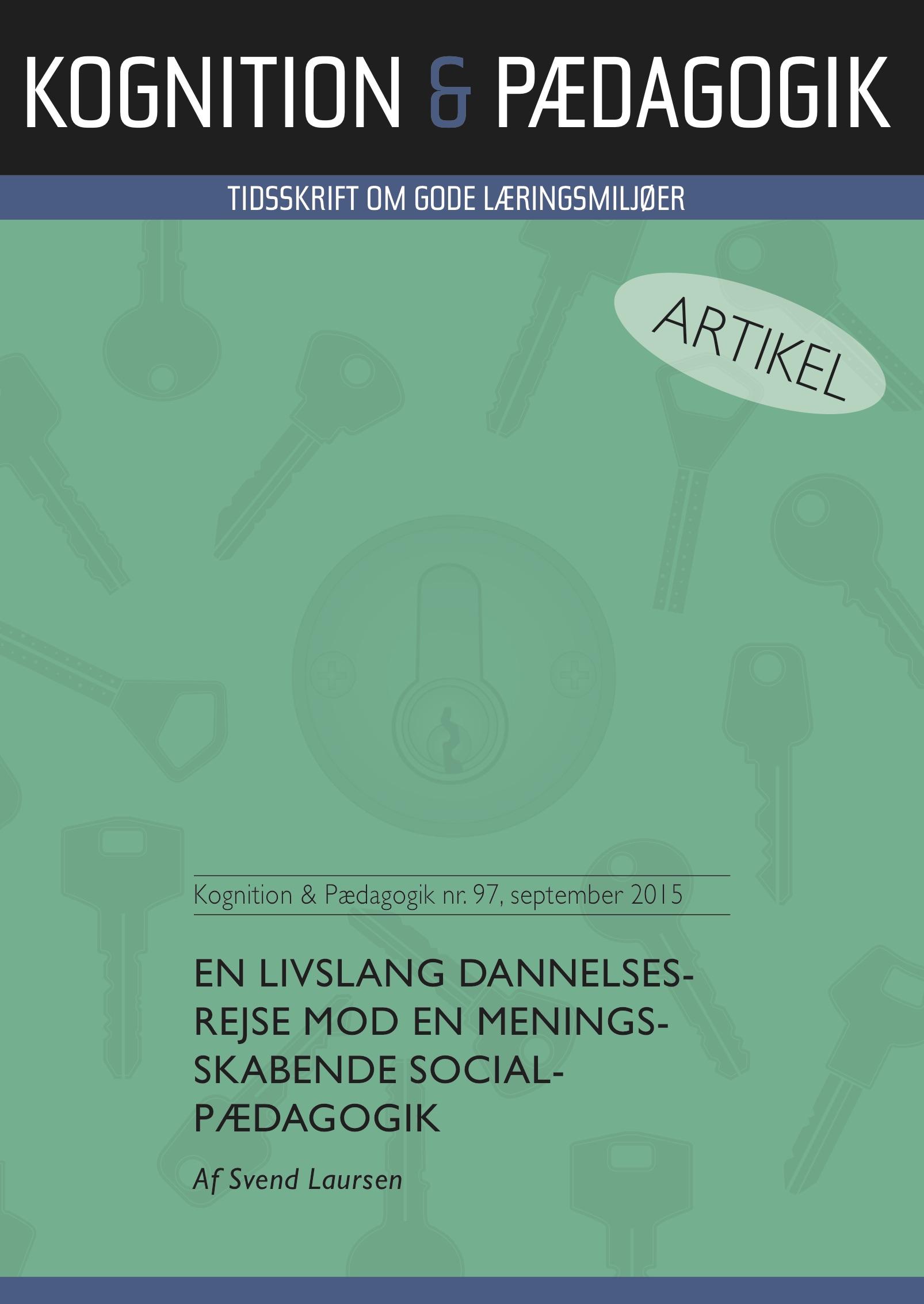 N/A En livslang dannelsesrejse mod en meningsskabende socialpædagogik - e-bog på bog & mystik