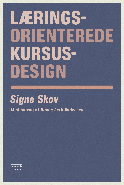 N/A – Læringsorienterede kursusdesign - e-bog på bog & mystik