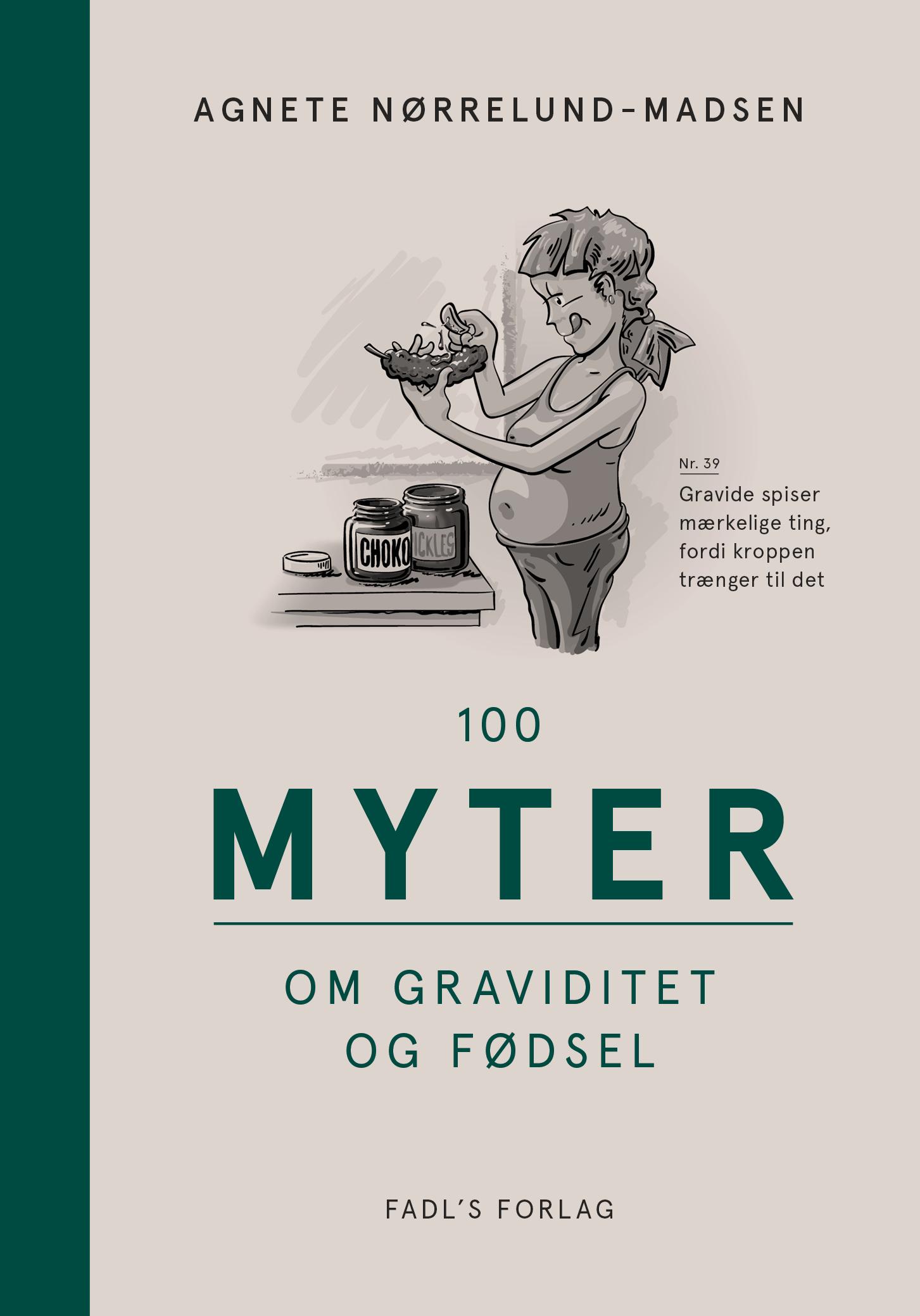 Image of   100 myter om graviditet og fødsel - E-lydbog