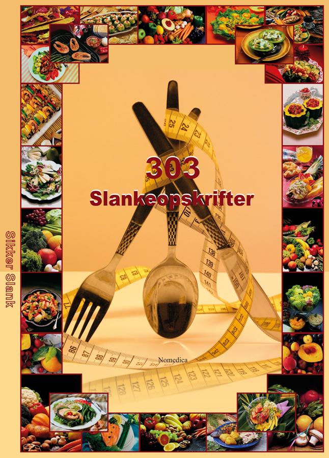 Image of   303 slankeopskrifter - E-bog