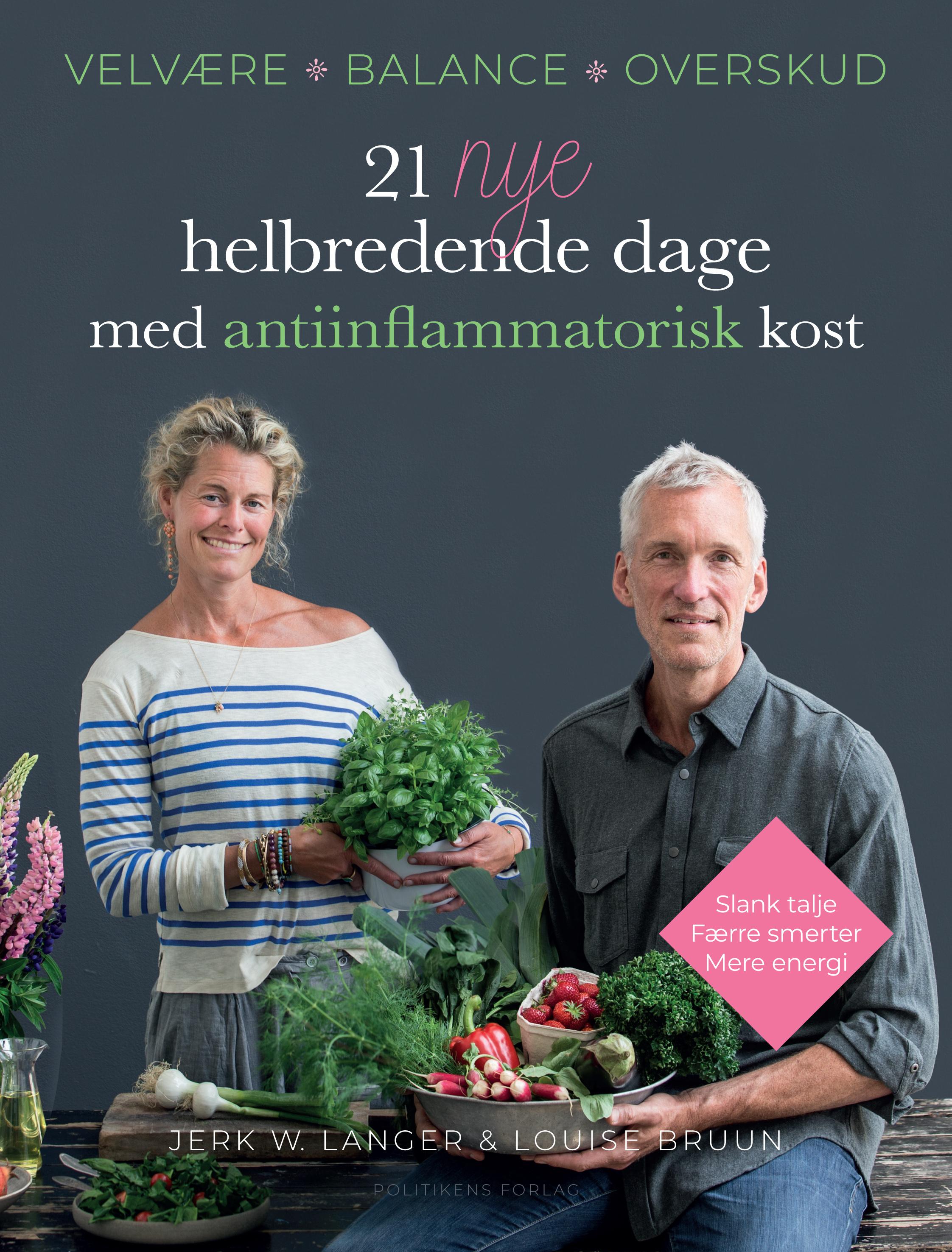 Image of   21 nye helbredende dage med antiinflammatorisk kost - E-bog