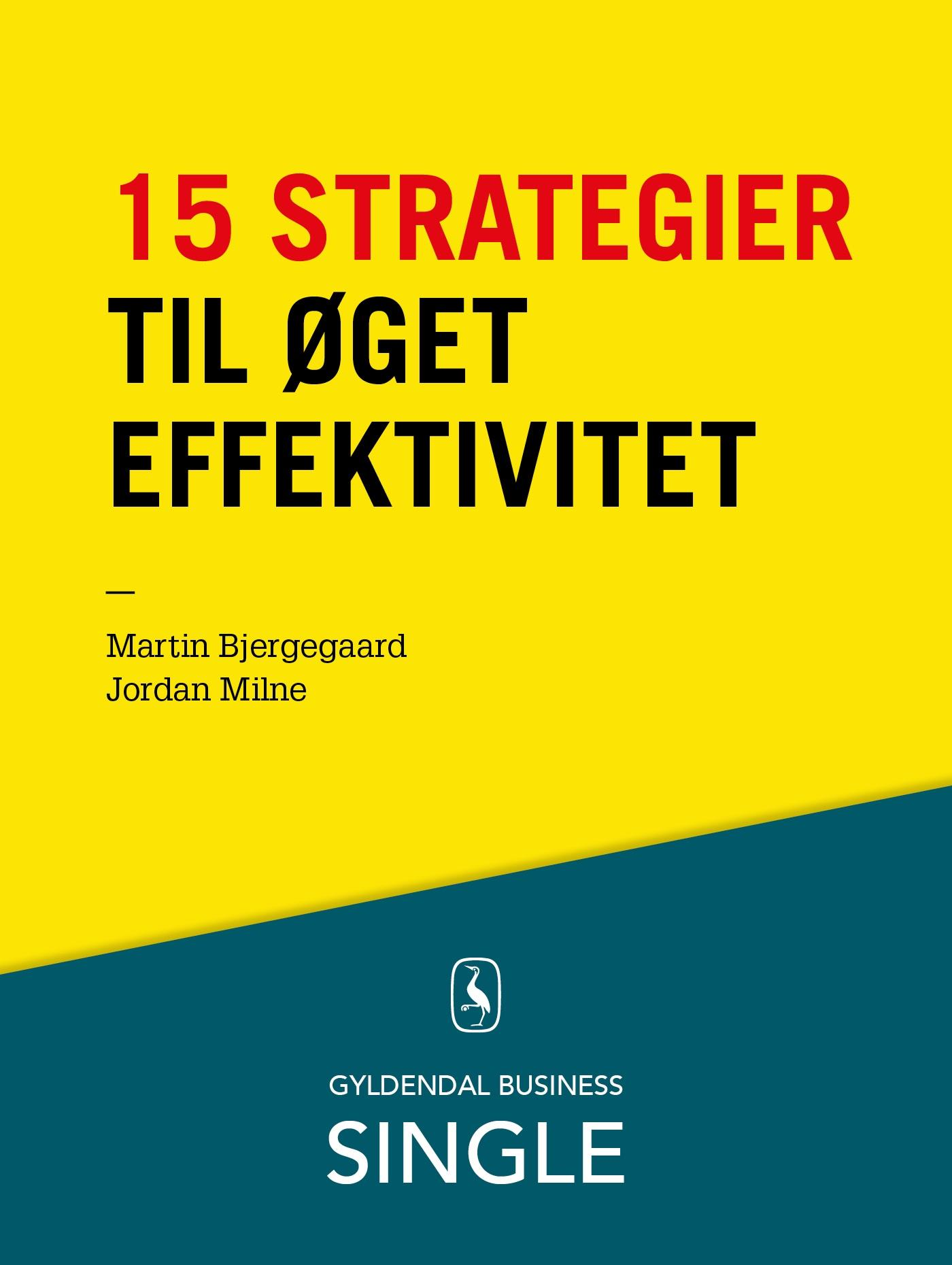 Image of 15 strategier til øget effektivitet - E-bog
