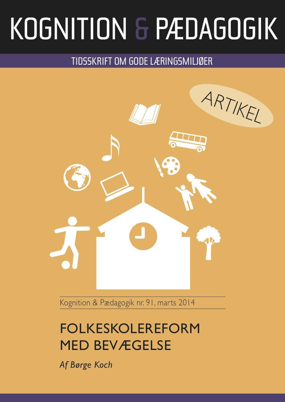 N/A – Folkeskolereform med bevægelse - e-bog fra bog & mystik