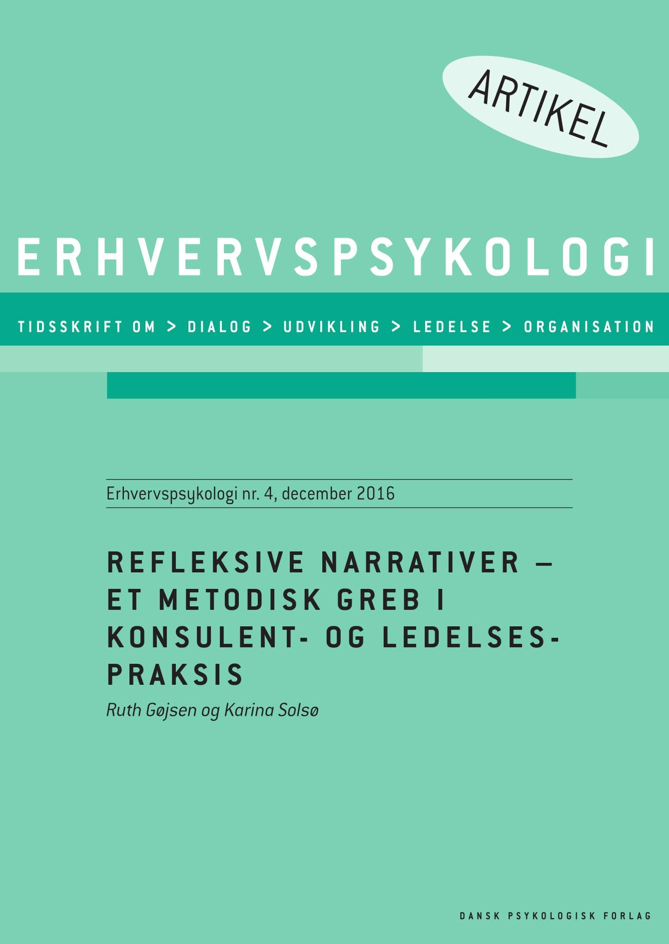 Refleksive narrativer  - e-bog fra N/A på bog & mystik