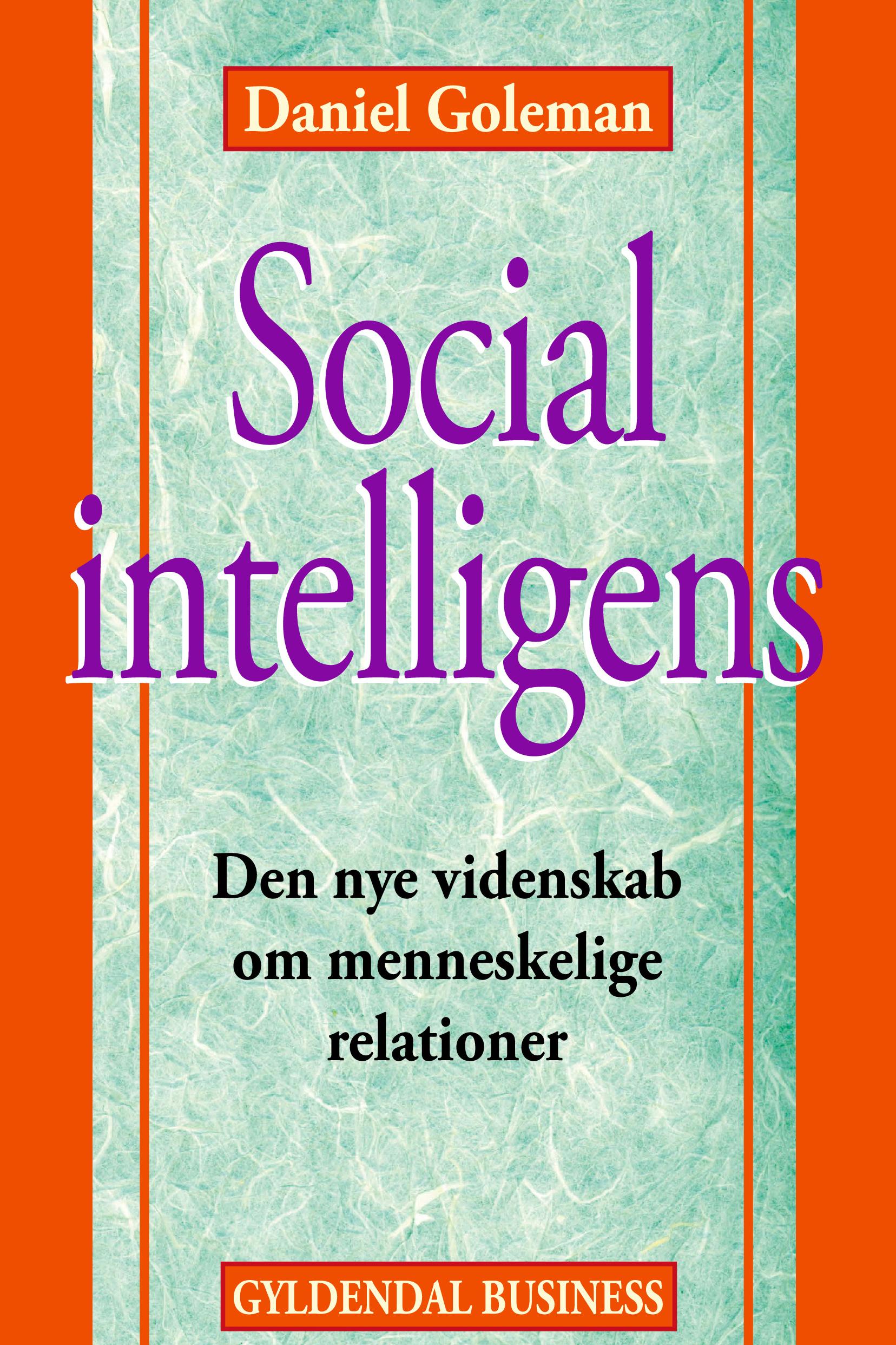 N/A – Social intelligens - e-bog på bog & mystik
