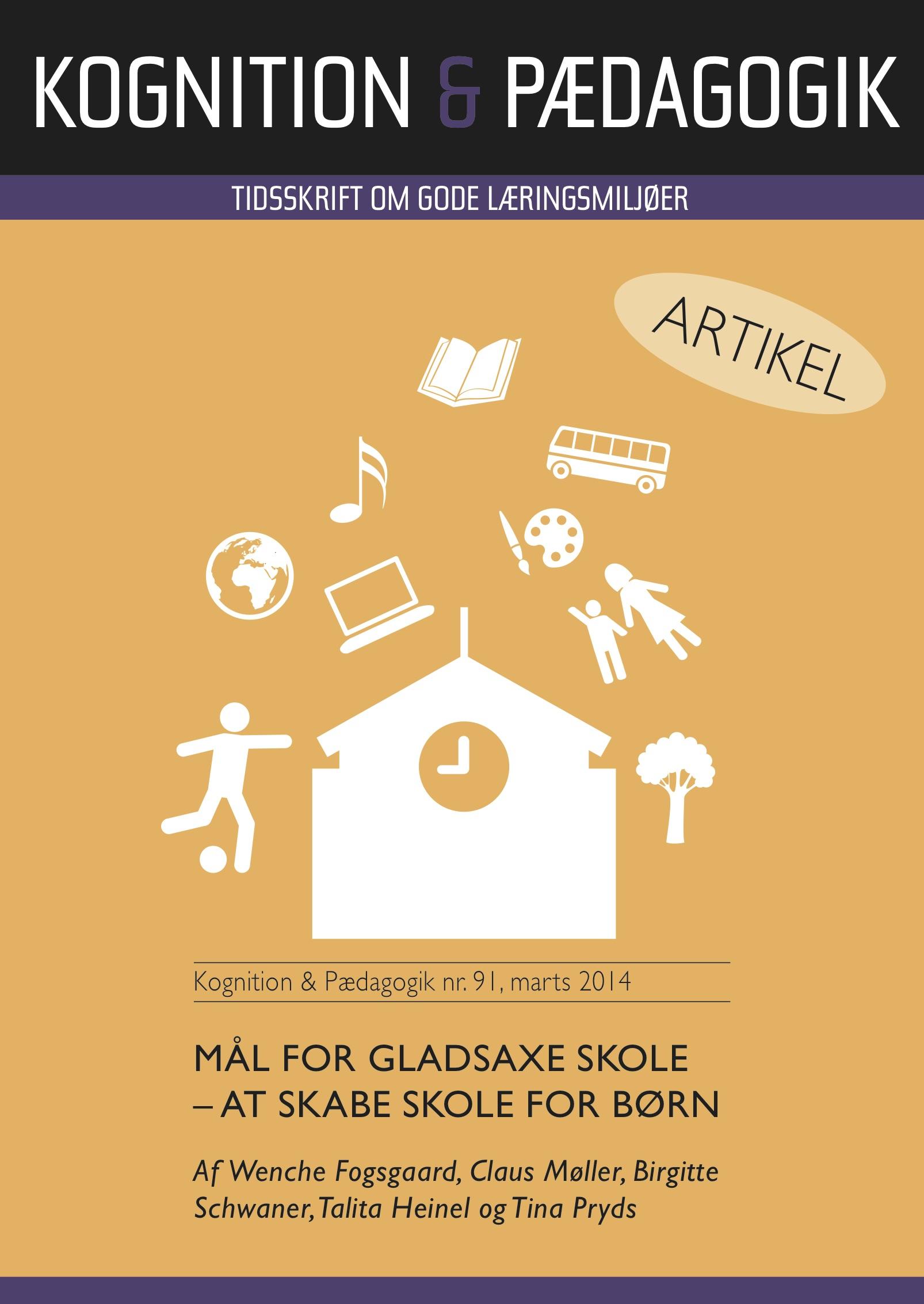 N/A Mål for gladsaxe skole - at skabe skole for børn - e-bog fra bog & mystik