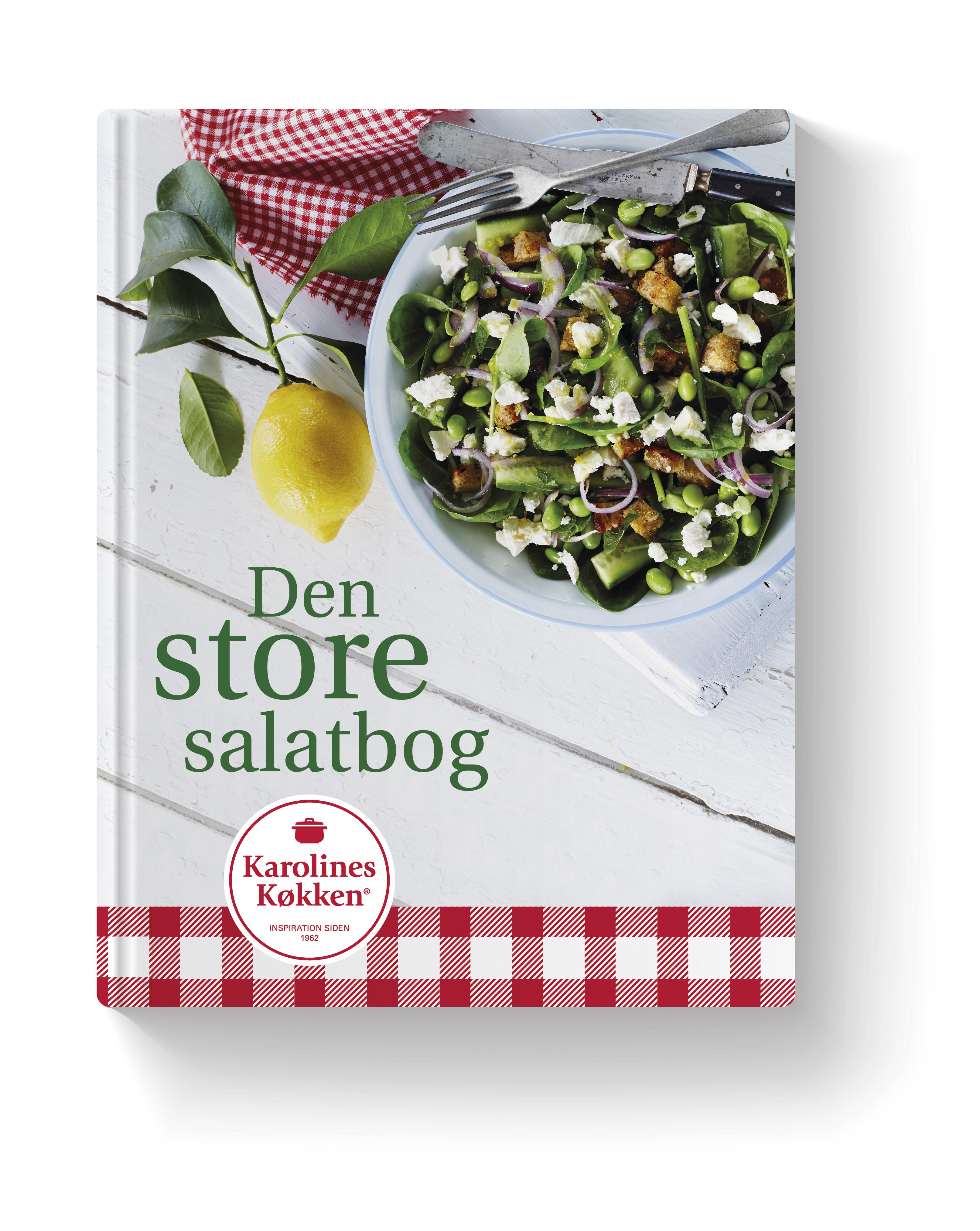 N/A Den store salatbog - fra karolines køkken - e-bog fra bog & mystik
