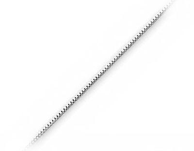 Venezia - Box halskæde - Box - 51cm - tykkelse 0,8mm - Halskæder