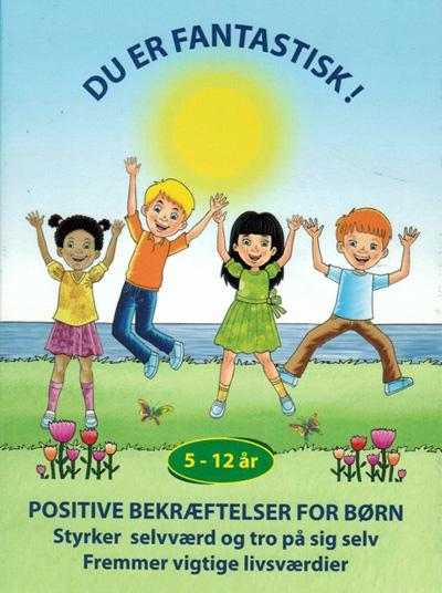 Du er fantastisk - bekræftelseskort  til børn fra N/A fra bog & mystik