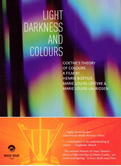 N/A Lyset - mørket - farverne på bog & mystik