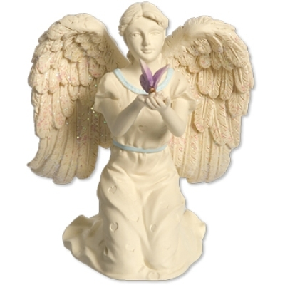 N/A Engel - butterfly dreams - angelstar - 10cm fra bog & mystik